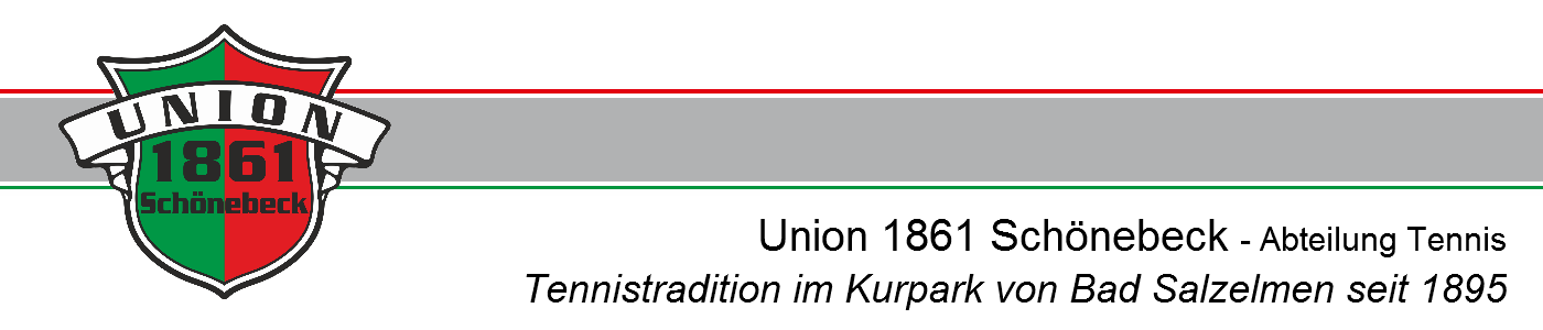 Union 1861 Schönebeck – Abteilung Tennis